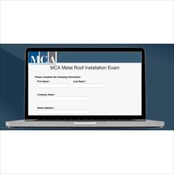 Metal Roof Installation Manual Exam