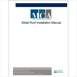 Metal Roof Installation Manual